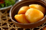 シンプルジャガイモの甘煮