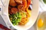 鶏肉のすき焼き風煮物