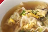 エビのスープ餃子