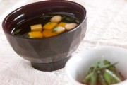 卵豆腐のお吸い物