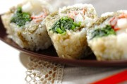 ホウレン草の巻き寿司