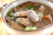 アサリと白菜の中華スープ