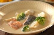 鮭の豆乳シチュー