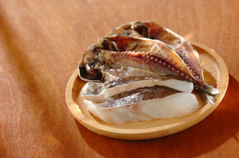 魚の干物・タラ