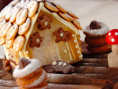 ホワイト・クリスマス☆雪化粧のスイーツ&ツリー形のレシピ