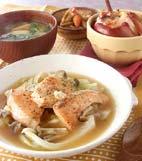 鮭とキャベツの蒸し煮の献立