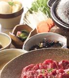 3種のタレで!牛肉のしゃぶしゃぶ鍋の献立