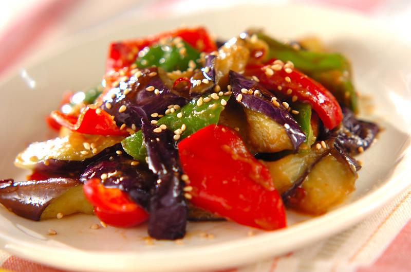 ナスとピーマンのみそ炒め【E・レシピ】料理のプロが作る簡単レシピ/2010.10.05公開のレシピです。