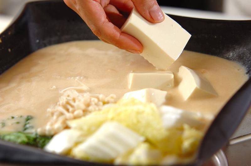 鶏鍋~酒粕鍋~酒粕湯葉ご飯の作り方の手順8