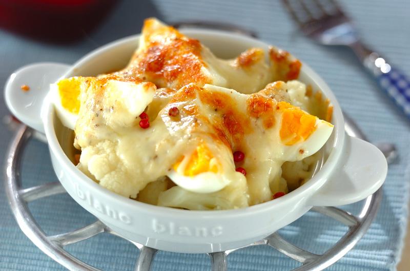 カリフラワーのチーズ焼きの作り方の手順