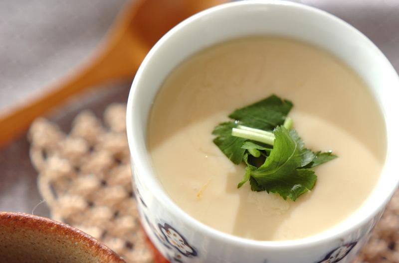 アサリ入り茶碗蒸し