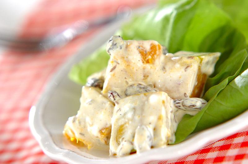 クミン風味パンプキンサラダ