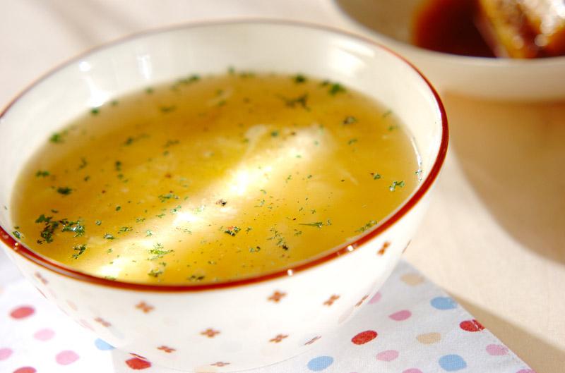 とろけるチーズスープ