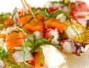 スモークサーモンのサラダの作り方の手順4