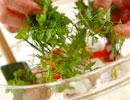 スモークサーモンのサラダの作り方の手順3