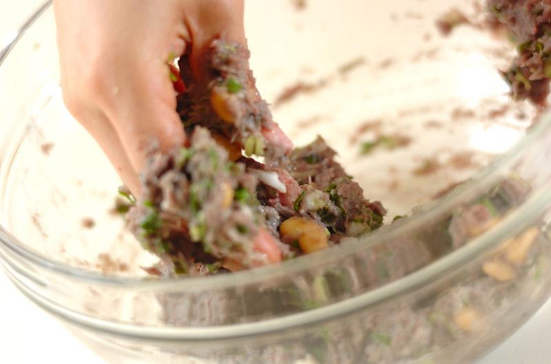 和風イワシハンバーグの作り方の手順6