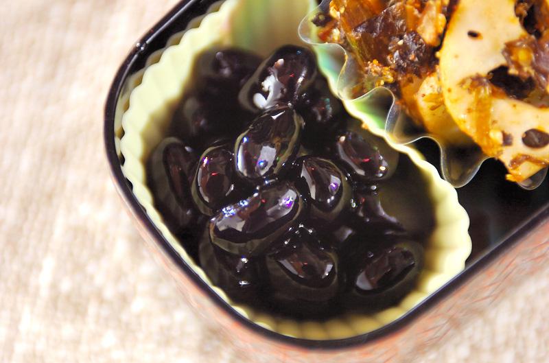 黒豆の甘煮