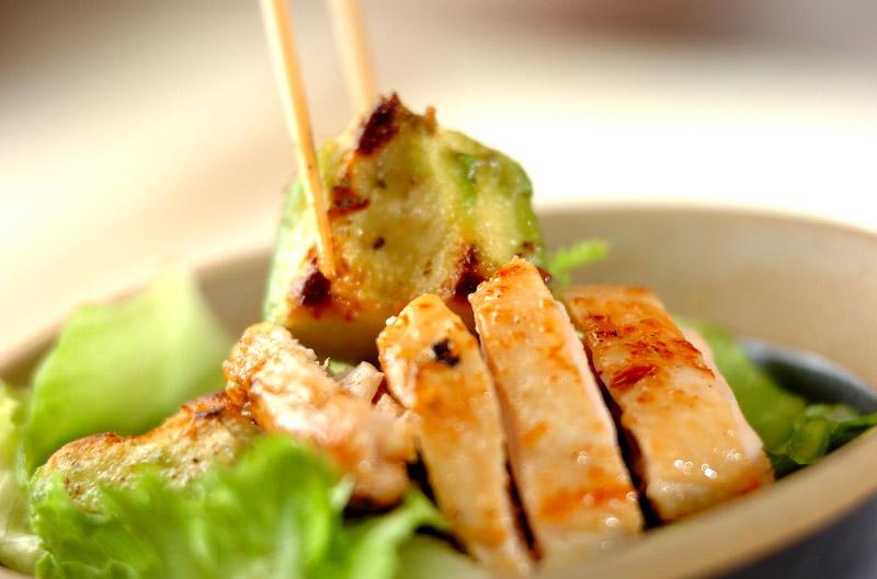 鶏とアボカドのユズコショウ丼の作り方の手順8