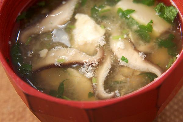 豆腐のおろし汁
