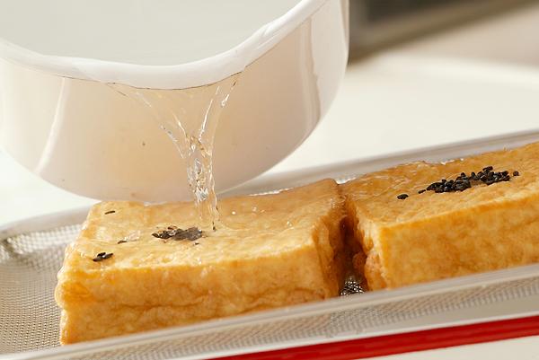 厚揚げの甘煮の作り方の手順1