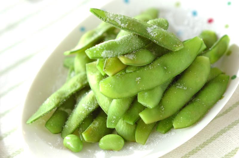 塩ゆで枝豆の作り方の手順