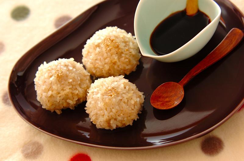 豆腐の蒸し米団子の作り方の手順
