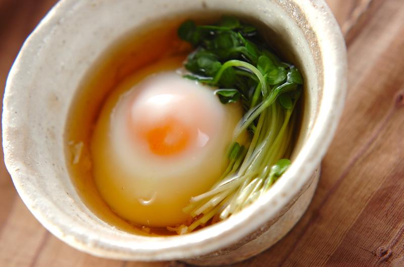 温泉 卵 料理