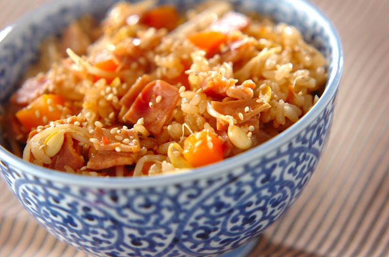 中華風炊き込みご飯の作り方の手順
