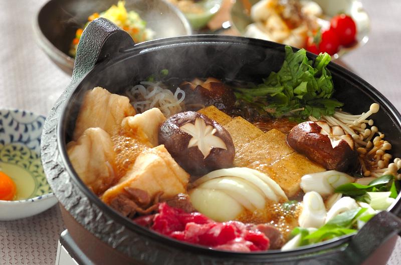すき焼き」の献立・レシピ , 【E・レシピ】料理のプロが作る簡単