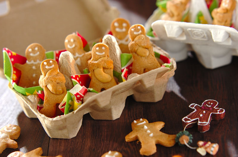ジンジャーマンのHUGナッツクッキーの作り方の手順