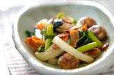 マッシュルームの炒め物の作り方の手順