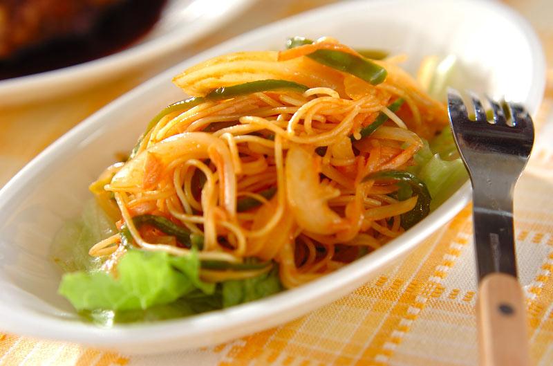 作り方 スパゲティ サラダ の