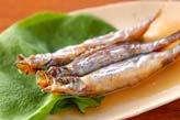 シシャモの揚げ酢漬けの作り方の手順