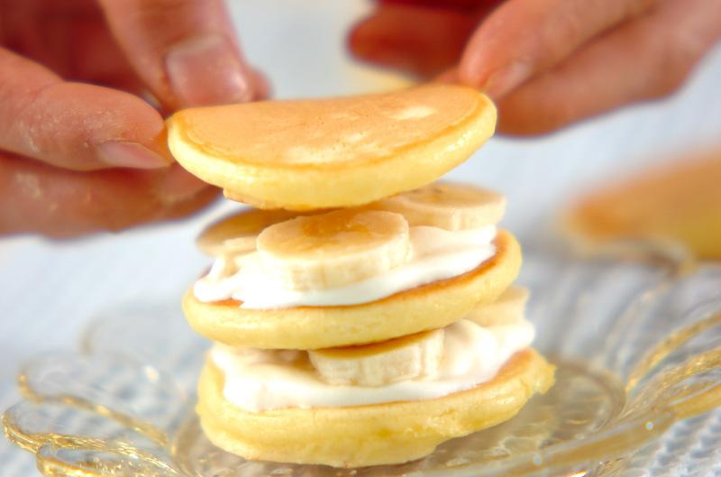 タワーケーキの作り方の手順5