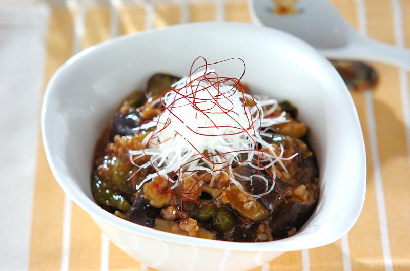 マーボーナス+冷製マーボーナス豆腐の作り方の手順