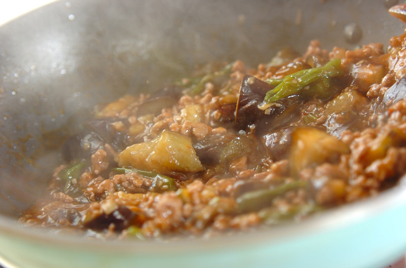 マーボーナス+冷製マーボーナス豆腐の作り方の手順4