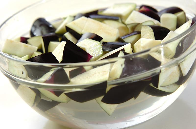 マーボーナス+冷製マーボーナス豆腐の作り方の手順1