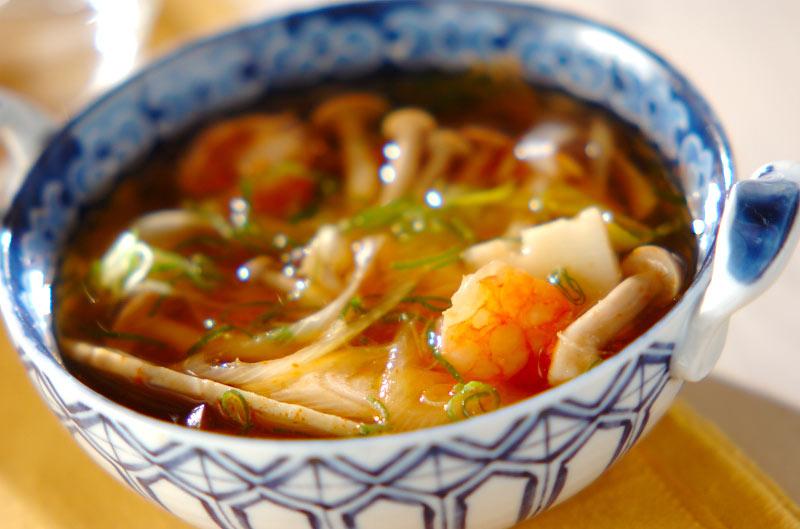 トムヤム風スープ