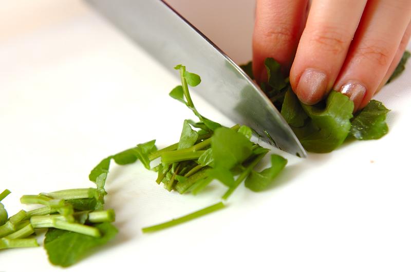 里芋とツナのサラダの作り方の手順2