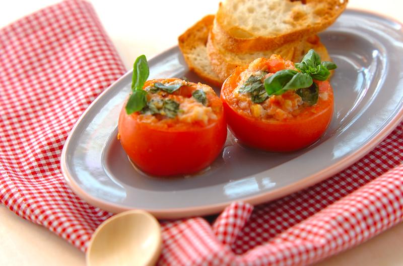 トマトカップグラタン