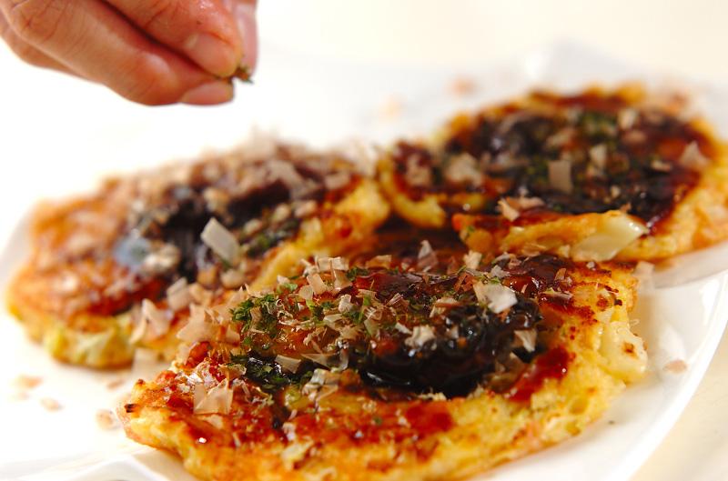 カキの大和芋焼きの作り方の手順4