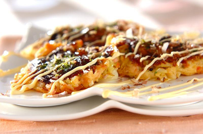 カキの大和芋焼きの作り方の手順