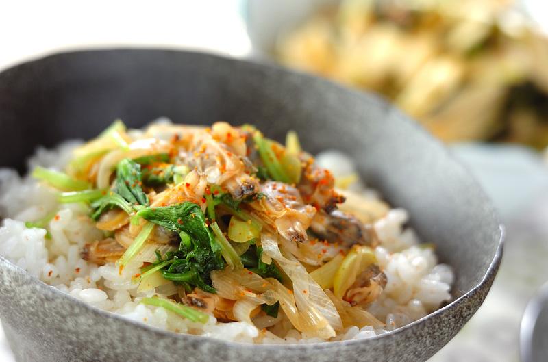 アサリ丼の作り方の手順