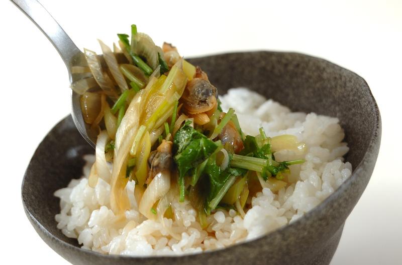 アサリ丼の作り方の手順6