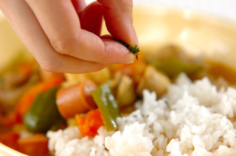 ソーセージのスープカレーの作り方の手順10