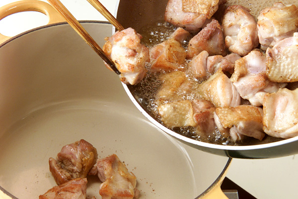チキンカレーシチューの作り方の手順3