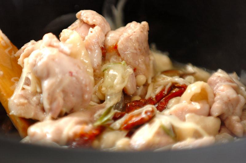 鶏肉のハーブオイル炒め煮の作り方の手順7
