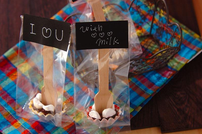 生チョコスティックの作り方の手順