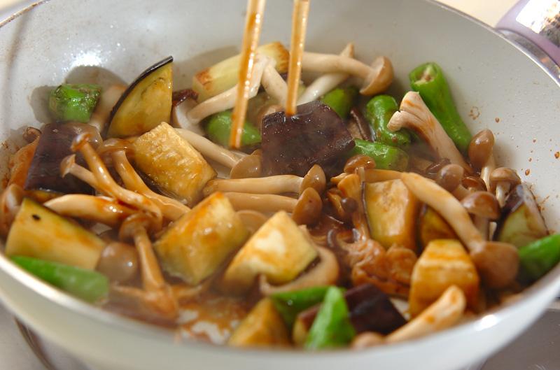 キノコのオイスターソース炒めの作り方の手順5