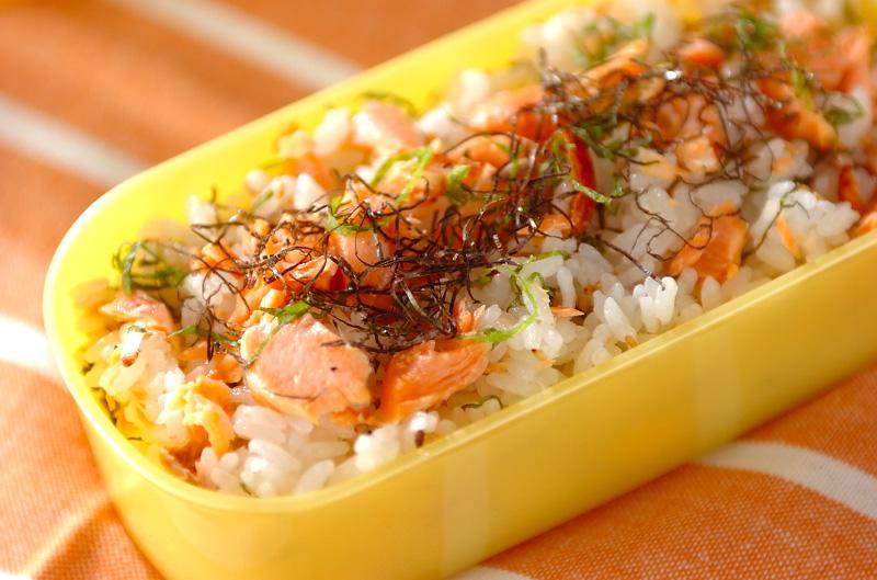 鮭の混ぜご飯